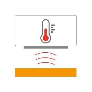 ThermoProの温度測定イメージ