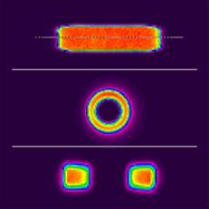 異形レーザーはんだ付け形状イメージ