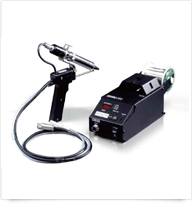 High power soldering station with automatic feeder Black SOLDER Jr.III